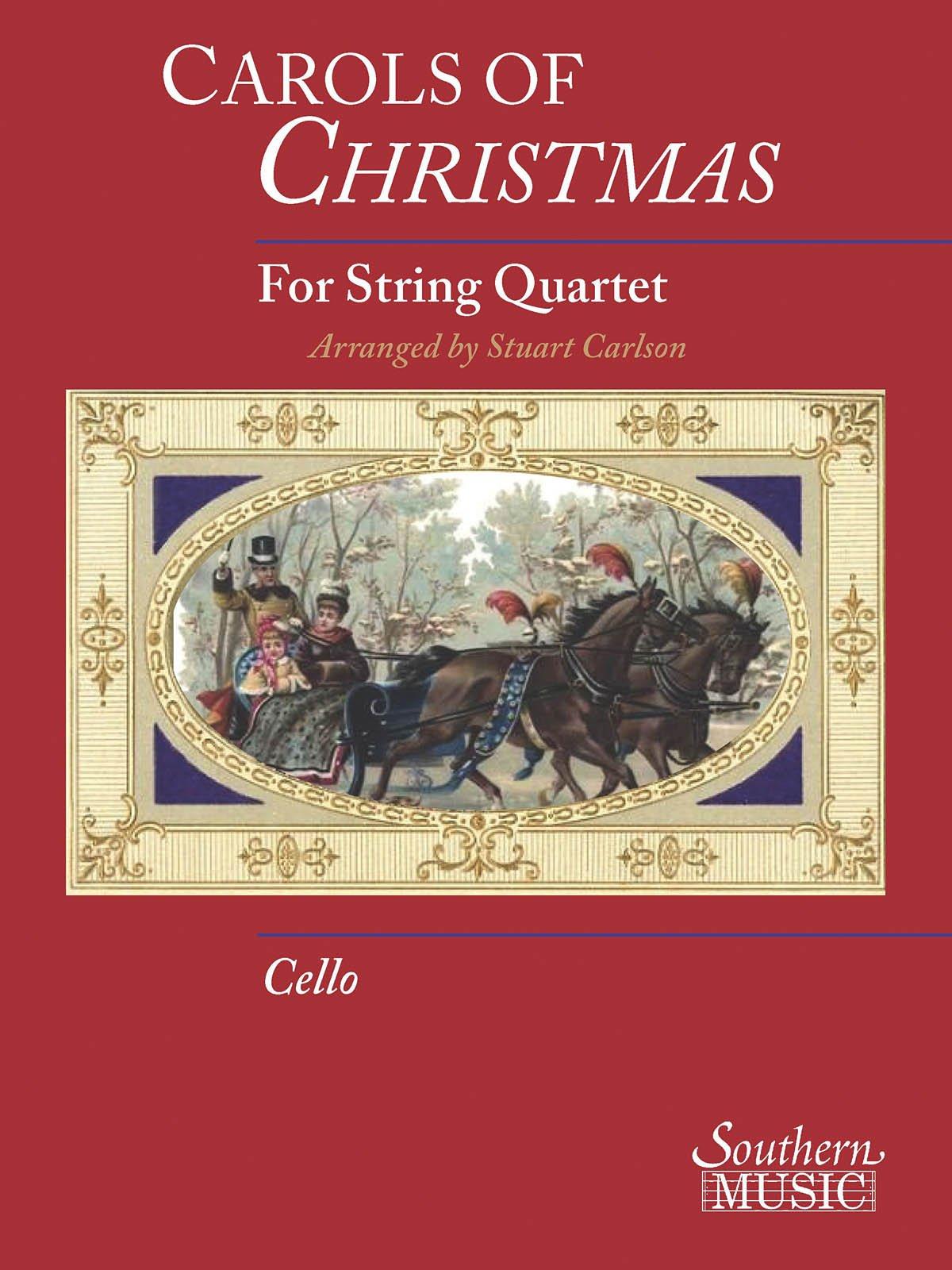 Carols Of Christmas For Str Quartet Cello Book Only pdf epub