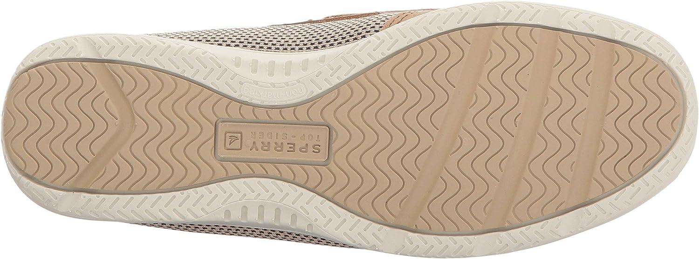 Sperry Top-Sider Kids Shoresider 3 Eye Boat Shoe Linen//Oat