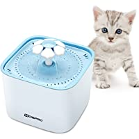 Pet Fountain Cat Water Dispenser - Healthy and Hygienic Drinking Fountain Super Quiet Flower…