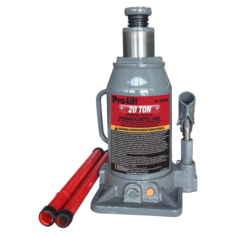 Amazon.com: Pro-Lift B-012D Grey Hydraulic Bottle Jack - 12 Ton Capacity: Automotive