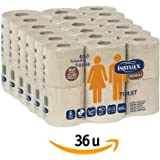 Papel Higiénico Reciclado Baño Rollo Wc Pack 36 unidades 158 gr/uni 6 Paquetes - Rollos Water…