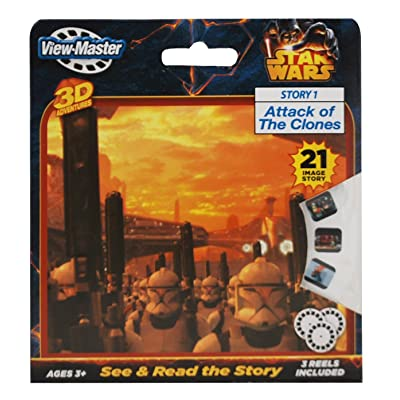 3Dstereo ViewMaster Star Wars - Attack of The Clones: Toys & Games