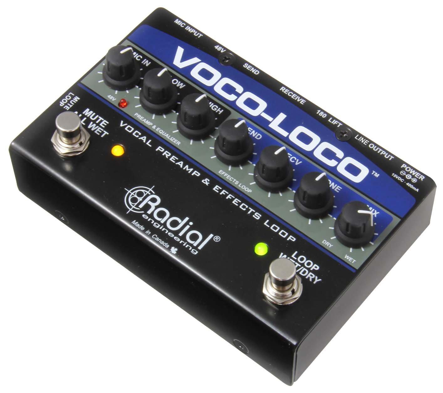 Radial ボーカル/楽器用エフェクトスイッチャー Voco-Loco 【国内正規輸入品】   B00KBO6IQU
