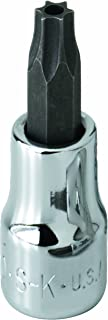 product image for SK Hand Tool 42530 Tamper Proof Torx T30 Drive Bit Socket, 1/4-Inch