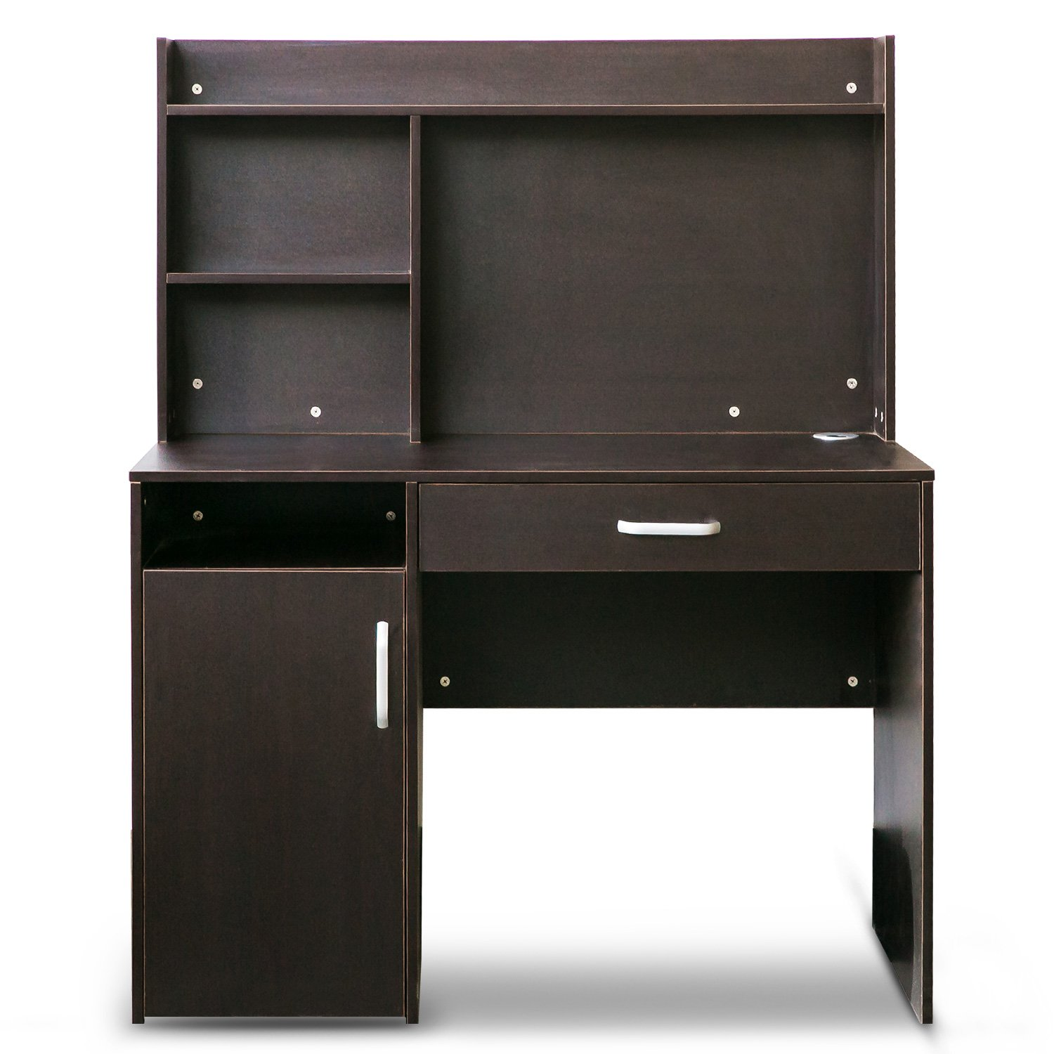 hutch black of drawers outstanding glossy desk computer with plus and cabinets designs