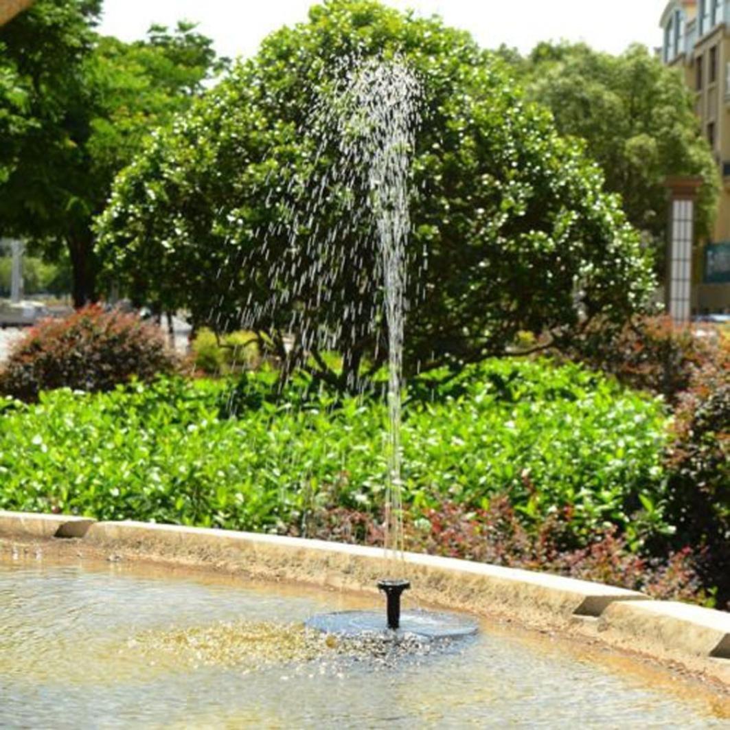 Practical Water Pump,Efaster Outdoor Solar Powered Bird Bath Water Fountain Pump For Pool, Garden, Aquarium