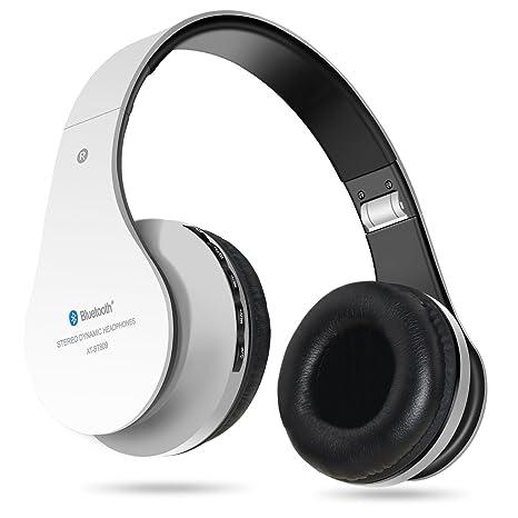 Auriculares inalámbricos Bluetooth, Penzo BT809 Auriculares para el oído con micrófono, compatibles con iPhones