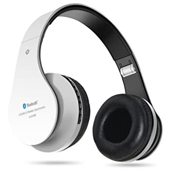 dbbfd2306cf Auriculares inalámbricos Bluetooth, Penzo BT809 Auriculares para el oído  con micrófono, compatibles con iPhones