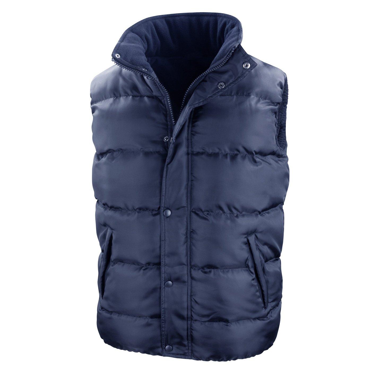 Result Mens Core Nova Lux Padded Fleece Lined Bodywarmer Jacket
