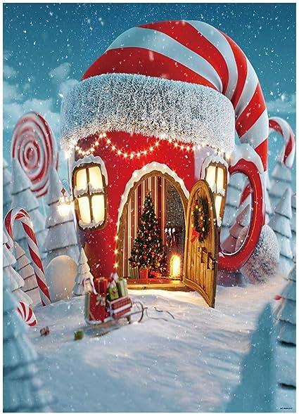 Lustiger Weihnachts Hintergrund 2018 Stil 19 Thin Kamera