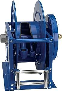 """Coxreels VA-DLPL-825 Dual Hose, Vacuum Only Spring Rewind: 1 1/2"""" I.D., 50' hose capacity, less hose"""