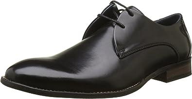TALLA 44 EU. Enzo Marconi Ciro, Zapatos de Cordones Derby para Hombre