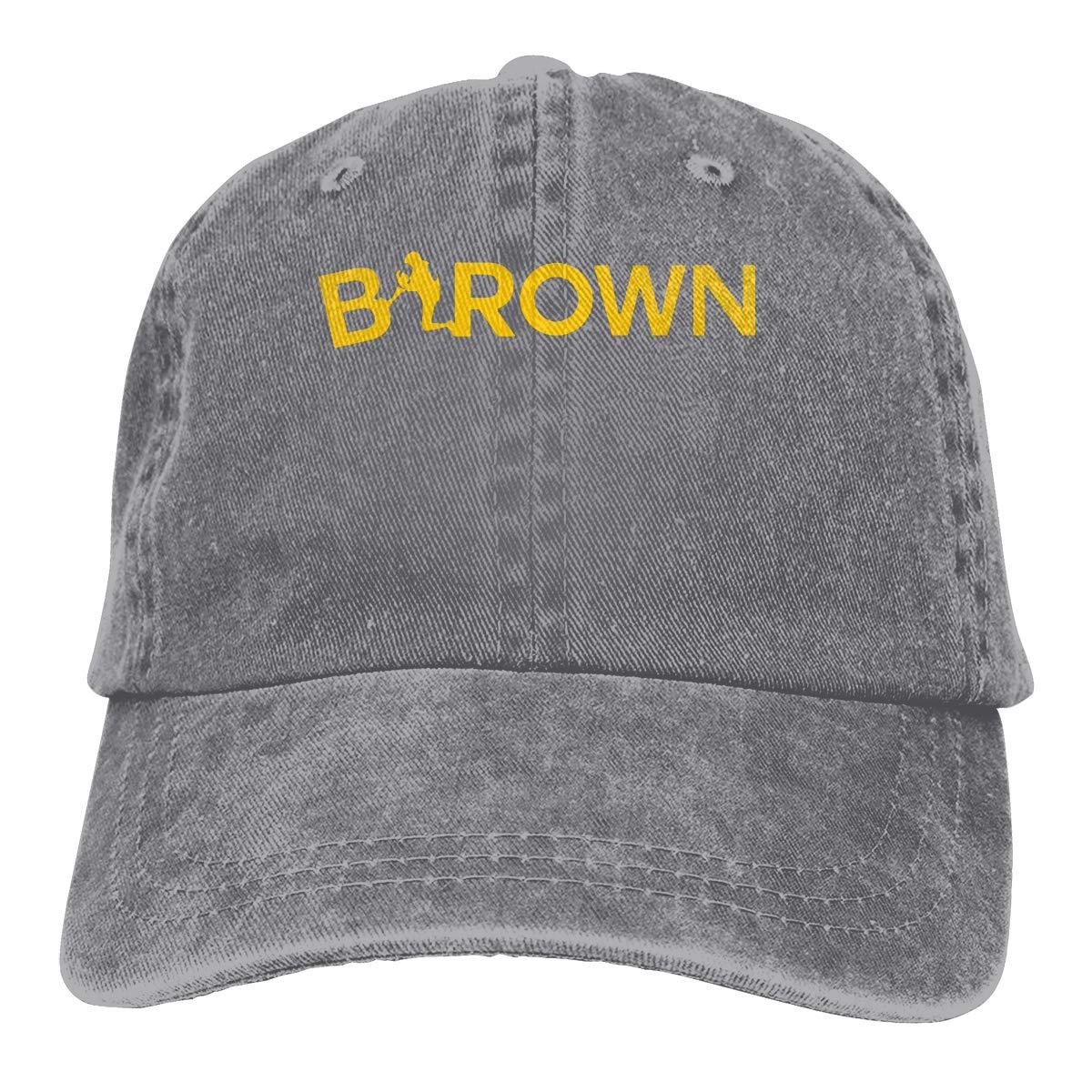 DeniCar Unisex Adjustable Baseball Caps Antonio-Brown-Name-Logo Cowboy Skull Cap