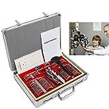 WUPYI 104pcs Optometry Box Trial Lens Case Set,Eye