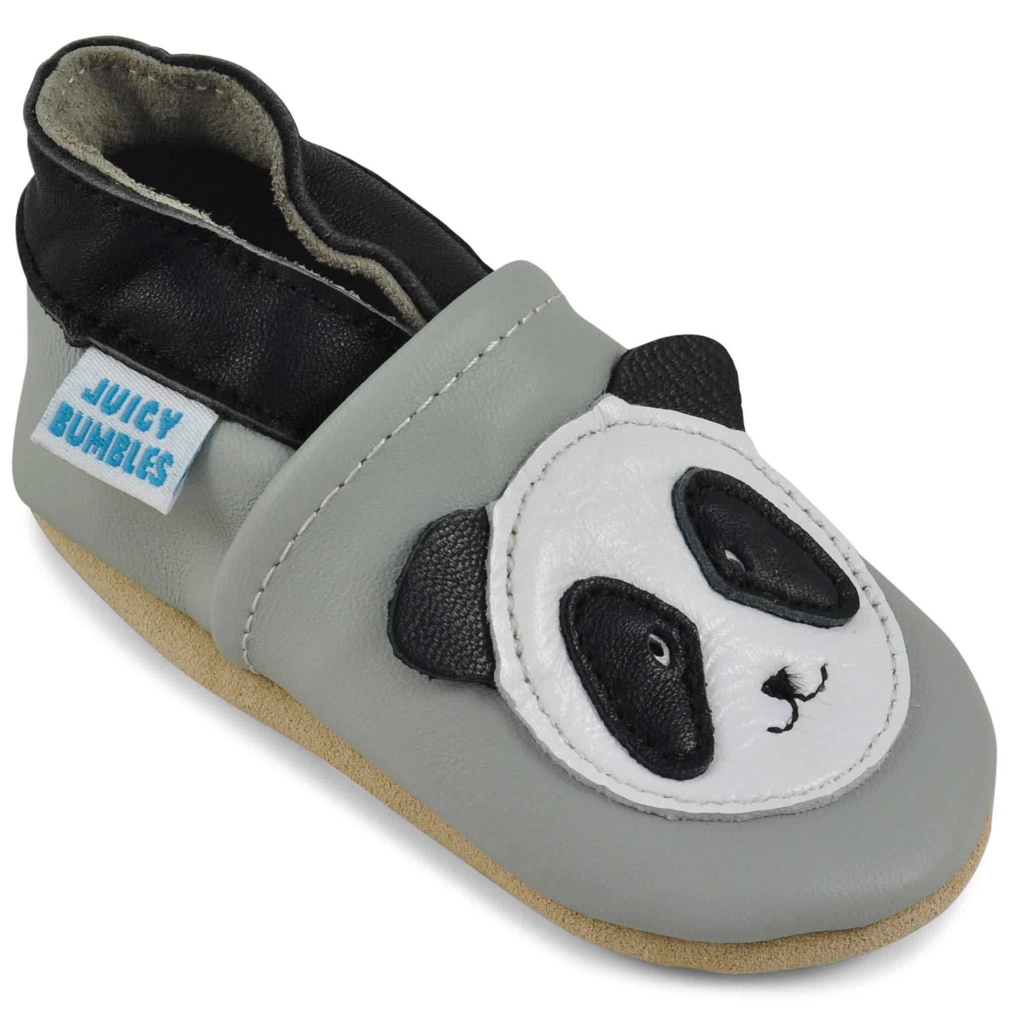 newest 5d9ea ff73f Juicy Bumbles Chaussures Bébé - Chaussons Bébé - Chaussons Cuir Souple -  Chaussures Cuir Souple Premiers
