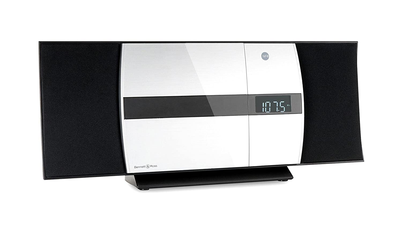 slot USB e Bluetooth Bennett /& Ross /Ålesund Impianto stereo verticale con lettore CD//MP3