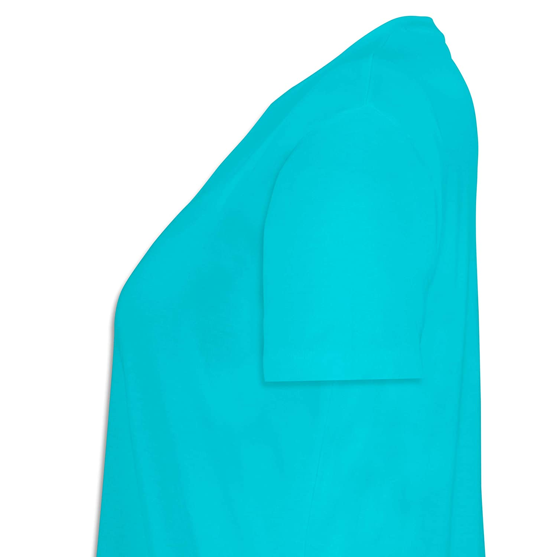 Statement Shirts Lockeres Damen-Shirt in gro/ßen Gr/ö/ßen mit Rundhalsausschnitt Lustiges Meerschweinchen Motiv