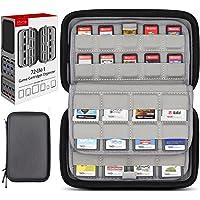 Sisma Korthållare 72 Fack för 40 Spel till Nintendo Switch PS Vita och 32 Spel till Nintendo 3DS 2DS DS…