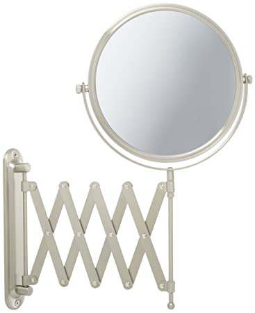 Amazon.com: Jerdon JP2027N 8-Inch Wall Mount Makeup Mirror with 7x ...