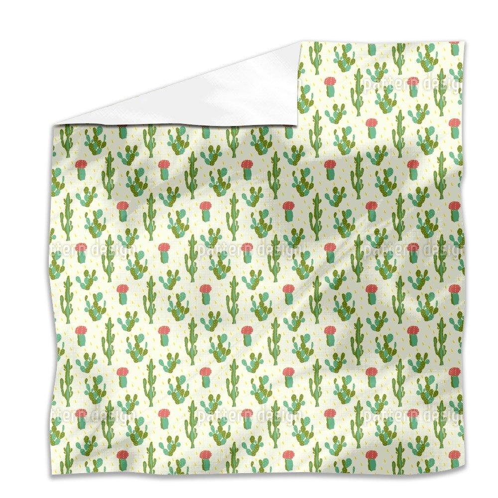 Desert Cactus Flat Sheet: King Luxury Microfiber, Soft, Breathable