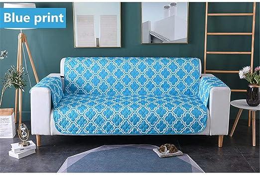 HellodayZ - Funda de cojín Impermeable para sofá, diseño de ...