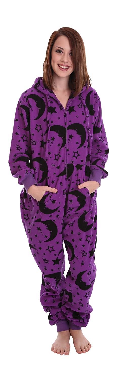 Funzee asistente adulto Onesie una pieza pijama pijama o filtros purificantes - Body para bebés Babygrow - tamaños pequeño a tamaño XXL (de altura) morado ...