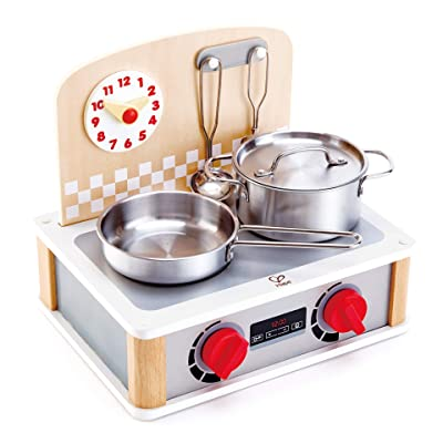 Hape 2-in-1 Kitchen & Grill Set: Toys & Games