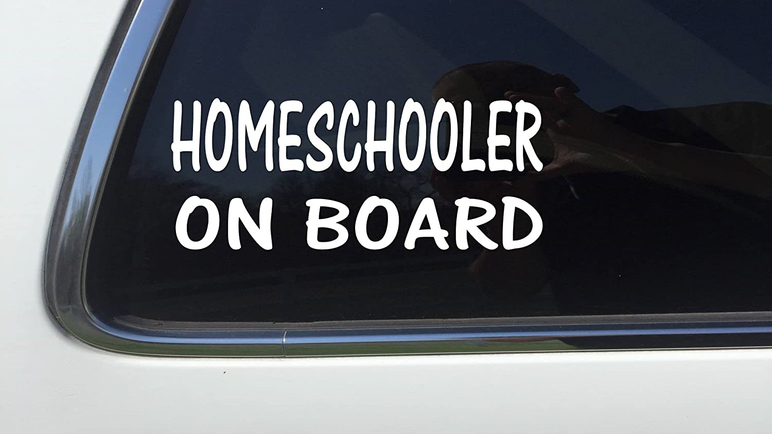 Amazon com thatlilcabin homeschooler on board as380 6 homeschool decal arts crafts sewing