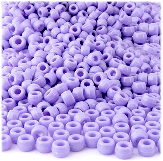 Purple Opal Copper Roller Beads Large Hole Beads Copper Lined Beads 6x9mm Lavender and Copper Beads 3mm Hole 8 Beads