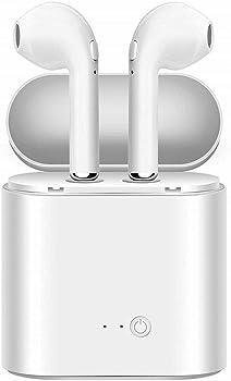 LIIOGU Bluetooth 4.2 Headphones with Built-in Mic