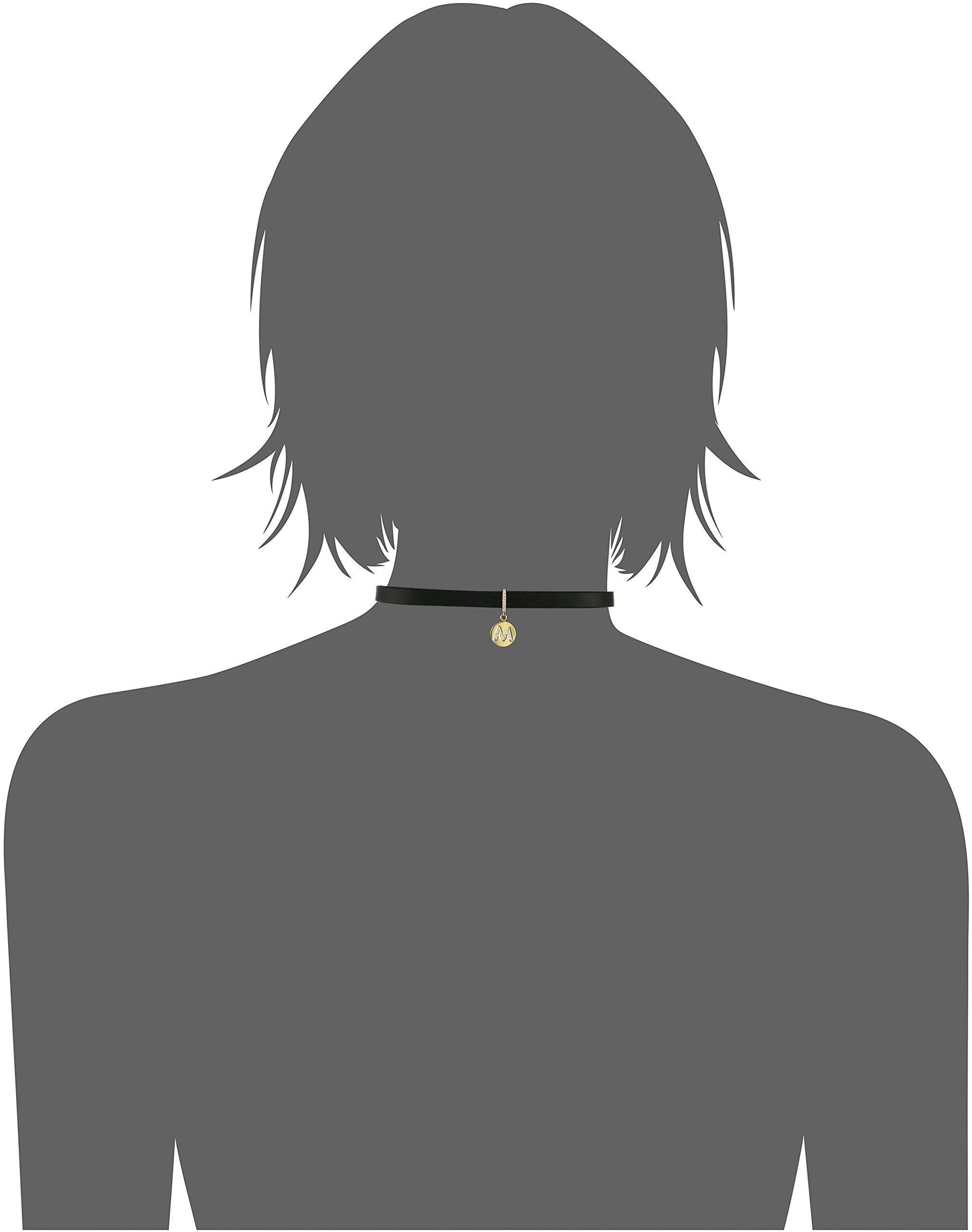 Kate Spade New York M Choker Necklace, 14'' + 2'' Extender by Kate Spade New York (Image #2)