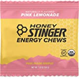 Honey Stinger Organic Energy Chews, Pink Lemonade, Sports Nutrition, 1.8 Ounce (Pack of 12)
