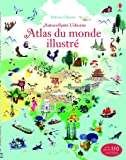 Atlas du monde illustré - Documentaires en autocollants