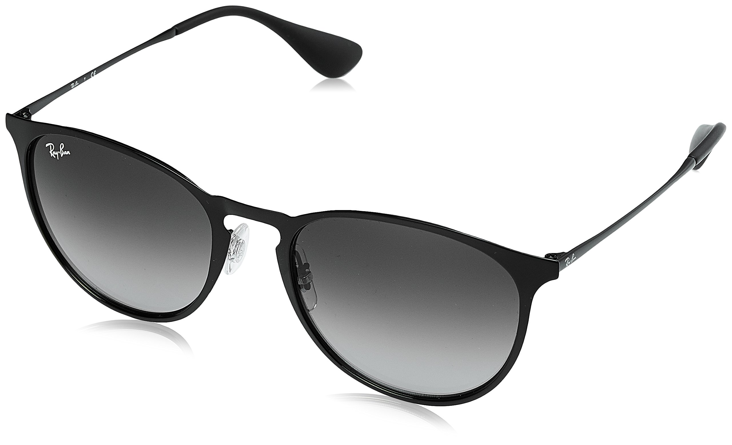Ray-Ban METAL UNISEX SUNGLASS - BLACK Frame GRAY GRADIENT Lenses 54mm Non-Polarized by Ray-Ban