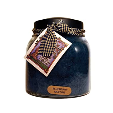 A Cheerful Giver A Blueberry Muffins 34 oz. Papa Jar Candle, 34oz