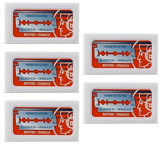best high end safety razor blades with platinum coating