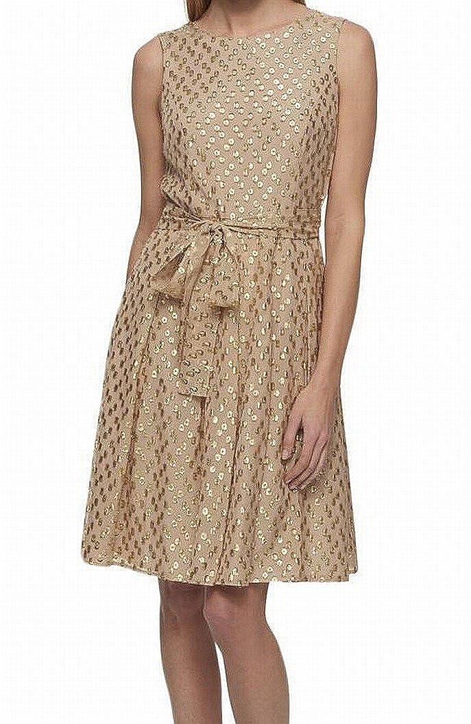 Tommy Hilfiger Women/'s Polka-Dot A-Line Dress