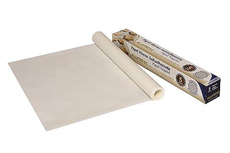 24 uds de papel para hornear 5 metros antiadherente: Amazon.es ...