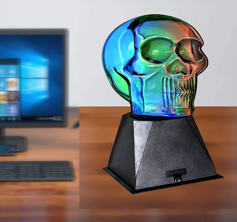 Creative Motion Plasma Skull Light