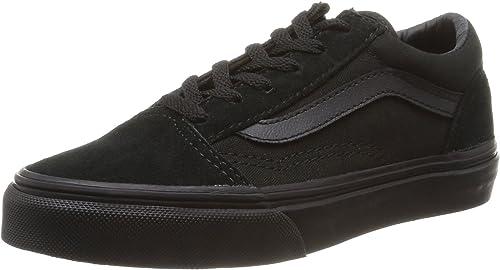 basket vans noir enfant