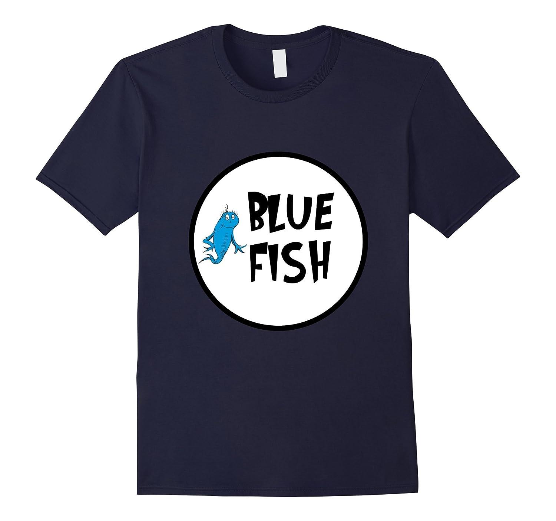 Cute Rhyming Red Blue T-shirt | Group Matching Costume-FL