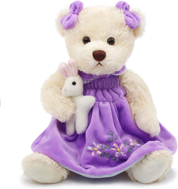 Super Soft Purple Mini Plush Bunny Rabbit