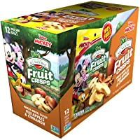 Brothers-ALL-Natural Fruit Crisps, Mickey Mouse Apple-Cinnamon, 0.35-Ounce (Pack of 12)