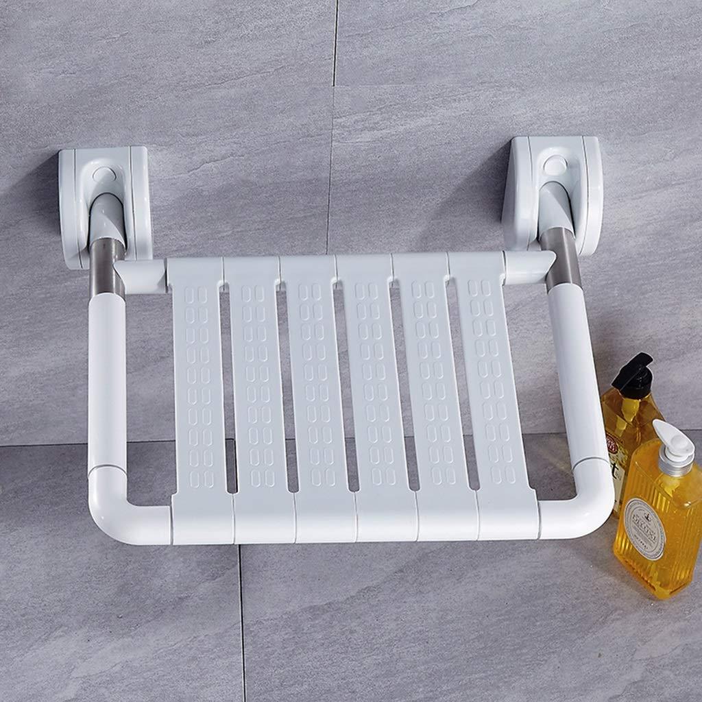 Amazon.com: Bath Stool Foldable Shower Stool Seat Bathroom Old Man ...