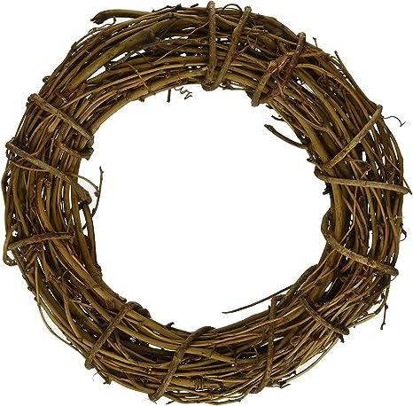 Hand made natural vine wreath #11