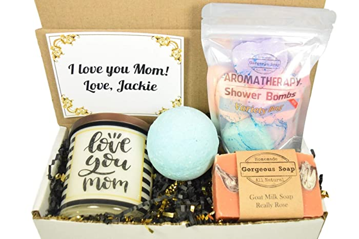 Custom Mom Gift Box Mother Gift Gift For Mom Mothers Gift Set Mom Gift Basket Gift Box For Mom Mothers Day Gift Box 14 Different Styles