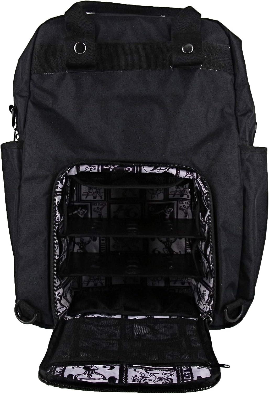 Stealth Black//Black 6 Pack Fitness Explorer 300XL Backpack Meal Prep Management System
