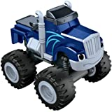 Blaze y los Monster Machines Nickelodeon - Coche crusher, color azul (Mattel CGF22)