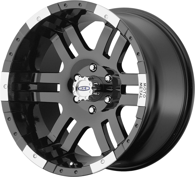 Wheel Deal on Wheels Moto Metal MO951 Gloss Black MACHINED MO951 17x9 8x165.10 Gloss Black MACHINED -12 mm