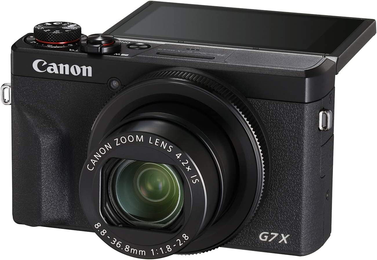 Best Camera For Filmmaking On a Budget Under $1000 - Canon G7X Mark III